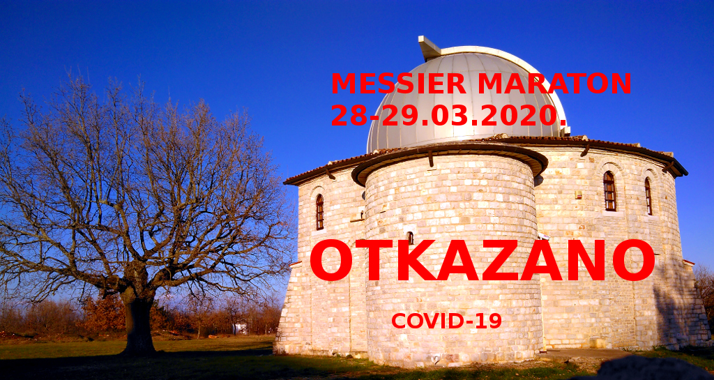 Otkazan Messier maraton 2020