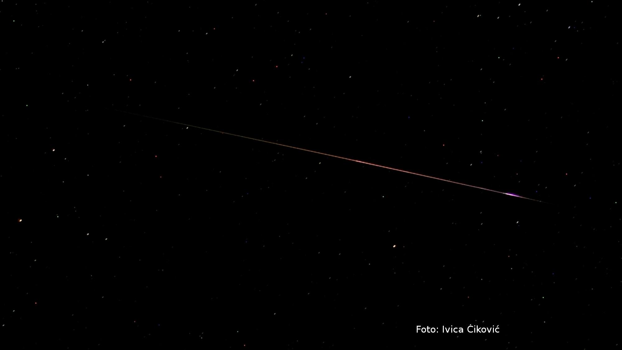 Treća najbolja ovogodišnja fotografija meteora u svijetu