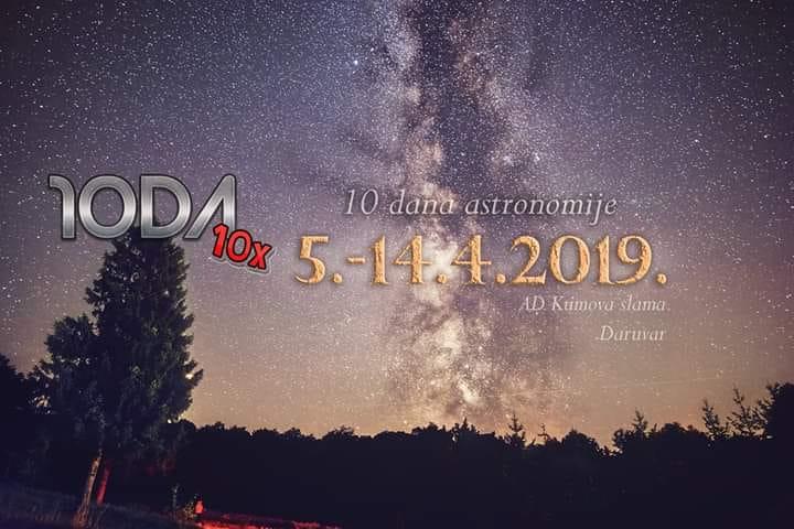 Program 10 Dana astronomije u Daruvaru